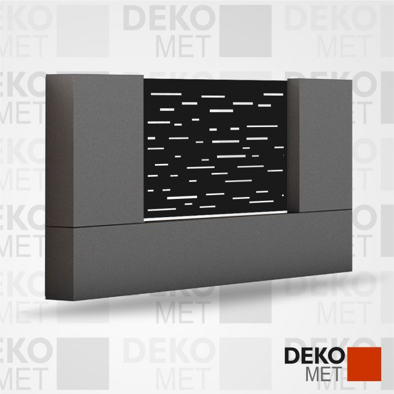 PANOU METALIC GARD DIN TABLA PERFORATA - GDM02