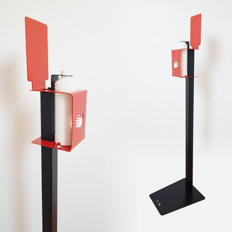 Suport mobil tip coloana pentru igienizant DKM02